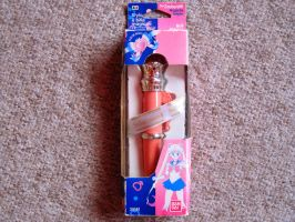 sailor moon bandai luna pen by SuperMoonie