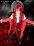 Cosplay Grell Sutcliff by pitchblack1994