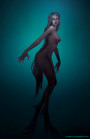 Sea witch by tomtitRin