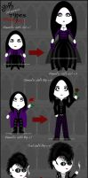 Goth Types ENHANCED preview by Trellia