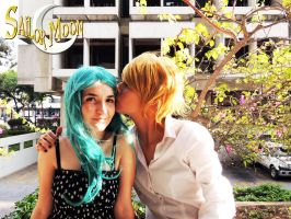 Haruka x Michiru - Cosplay Session 18 by Bahamut-Eternal