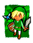 TLOZ: Young Link by Peeweelessthanzero