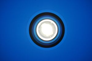 Light With Blue Circles by LoboSabio