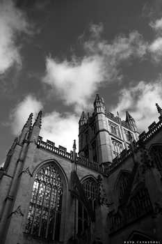 Bath Cathedral by diiscovery