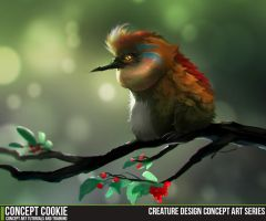 Creature Design Concept Art Series by CGCookie