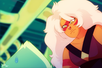 Jasper and Peridot Redraw by Picklesquidly