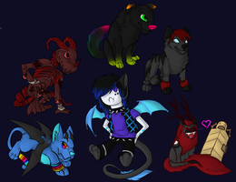 Chibis :D by Synthetic--Ecstasy