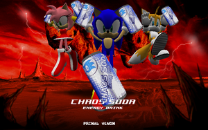 Sonic - Chaos Soda by NeoMetalSonic360
