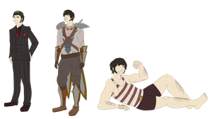 Dalaigh's Alternate Outfits by locust-spawning