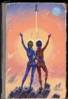 Space Girls by Lipatov