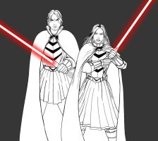 Twins of the Sith II - WIP by JosephB222