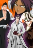 The new team with Aizen by Redzs00