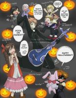 KH2 n Ouran: Happy Halloween by yesi-chan