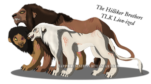 The Hilliker Brothers - TLK Lion-ized by Sapphiresenthiss