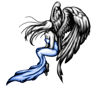 Angel tattoo Design by Dickies45