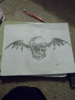 better view of Deathbat by fallenwulf1993