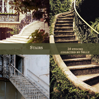 Stairs stocks by yoLittleJade
