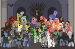 My Little Thronies: Power is Magic by lissa-quon