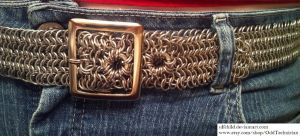 6-in-1 Aluminum Belt with Buckle (Worn) by ulfchild