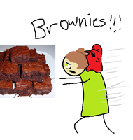 Appetite for Brownies by c10brook