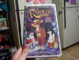Rudolph the Red-Nosed Reindeer: The Movie VHS Tape by LGW1234159