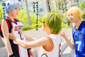 Kuroko no Basuke : Today's Lucky Item by Itchy-Hands