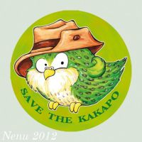 SAVE  THE  KAKAPO by Nenu