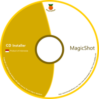 magicshot cd label by bluedee