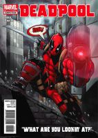 Deadpool City Cover by RecklessHero