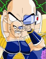Nappa the bald muscle by Kabocha24