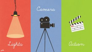 Lights Camera Action by protoPrimus