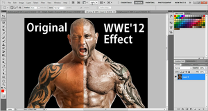 How To Create WWE '12 Renders With Photoshop CS5 by TheElectrifyingOneHD