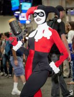 SDCC Harley Quinn - At yer service! by Enasni-V