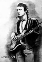 John Deacon by DrowseART