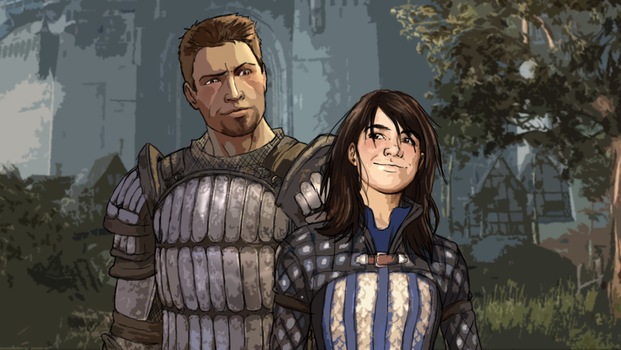 The Prince and the Warden by Kayla-Chan
