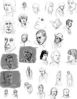 Sketch Dump: Doctor Who 3 by Mistical1