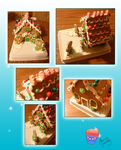 Gingerbreadhouse by AilwynRaydom