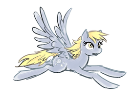 derpy long legs sketch by snelahestar
