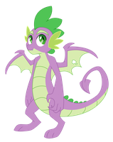 Teenage Spike by Lopoddity