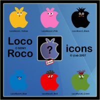 Loco Roco Apple - Icons by iFab