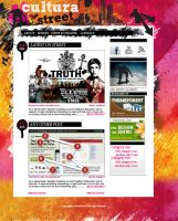 Blog Design for StreetCultura by one8edegree