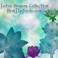 Lotus Blossom Brush Collection by Tatianasaphira