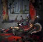 Death of the Sacred Beast by LilleahWest