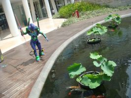 EVA-01 at Central Park Mall 8 by V-male