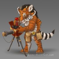 Charr Cub Engineer by WICKED-ZOEYGIRL
