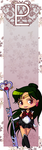 Sailor Pluto bookmark by Marc-G