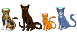 Warrior Cats by TeslakK9