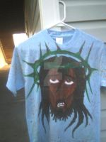 shirt 2 I painted by HugAttack4JesusXD
