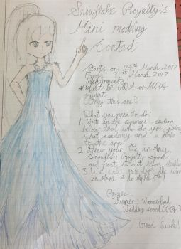 Snowflake Royalty's Mini modeling contest by aliciadreamart