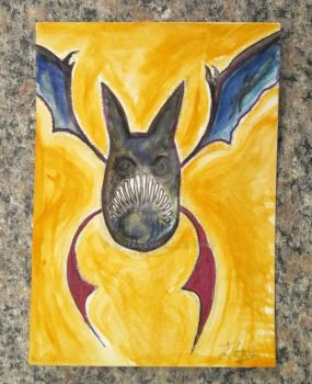 Crobat sketch card by Jmele